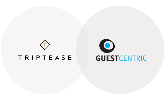 GuestCentric and Triptease partners