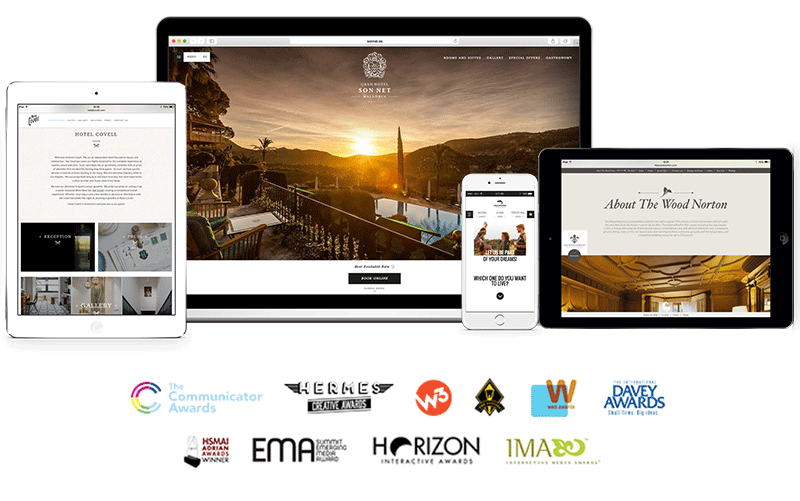 GuestCentric is the first non digital agency to win over 100 awards for web design and innovation