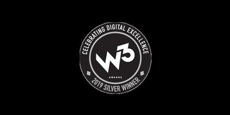 w3 awards silver