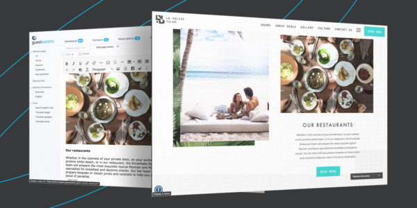 GuestCentric CMS - Content Creation meets visual design